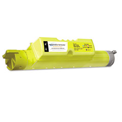 MDAMS511YHC - Media Sciences MDAMS511YHC 5110cn Compatible, New Build, 310-7895 Toner, 12,000 Yield, Yellow