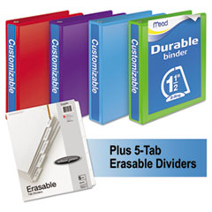 MEA66534AU - Mead® Durable D-Ring View Binder Plus Pack