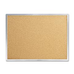 MEA85360 - Quartet® Economy Cork Board with Aluminum Frame