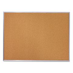 MEA85361 - Quartet® Economy Cork Board with Aluminum Frame