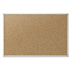 MEA85362 - Quartet® Economy Cork Board with Aluminum Frame