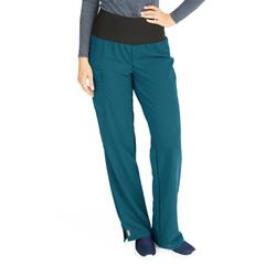 MED5560CRBXXXL - Medline - Ocean Ave Womens Stretch Fabric Support Waistband Scrub Pants, Blue, 3XL