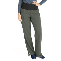MED5560OLVXXLP - Medline - Ocean Ave Womens Stretch Fabric Support Waistband Scrub Pants, Green, 2XL
