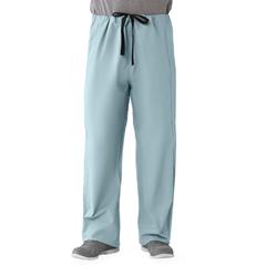 MED649MZSXL - Medline - Unisex 100% Cotton Reversible Drawstring Scrub Pants, Green, XL
