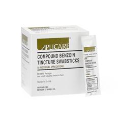 MEDAPLS1106H - Medline - Compound Benzoin Tincture Swabsticks