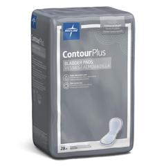 MEDBCPE01 - MedlineCapri Plus Bladder Control Pads- Regular, 5.5 x 10.5