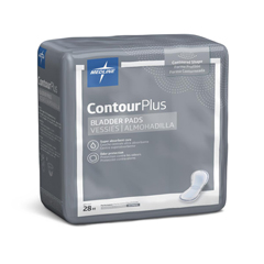 MEDBCPE03Z - MedlineCapri Plus Bladder Control Pads- Ultra Plus, 8 x 17