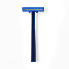 MEDBRN1312PK - Medline - Disposable Facial Razors with Twin Blades, 10 EA/BG