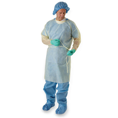 MEDCRI4001 - MedlinePolypropylene Isolation Gowns