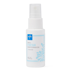 MEDCRR101003H - Medline - Carrafree Fresh Odor Eliminating Spray, 1 oz, Unscented