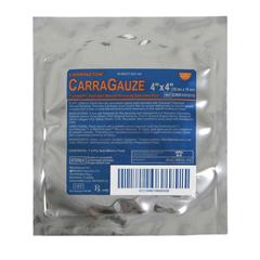 MEDCRR101015Z - MedlineDressing, Carragauze, 4x4 4-Ply Pad, 1 Pk