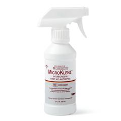 MEDCRR108008 - Medline - Cleanser, Wound, Microklenz, 8 Oz, Spray
