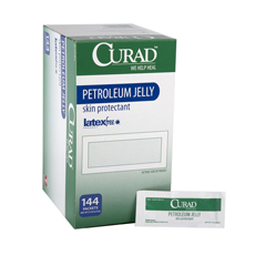 MEDCUR005345Z - MedlinePetroleum Jelly Single Use Packets
