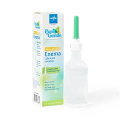 MEDCUR095010 - Medline - Pure and Gentle Disposable Mineral Oil Enema, 4.500 OZ, 24 EA/CS