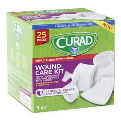 MEDCUR1625V1H - Curad - 25-Piece Wound Care Kit, 1/BX