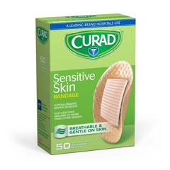 MEDCUR45230NRBZ - CuradSensitive Skin Bandages