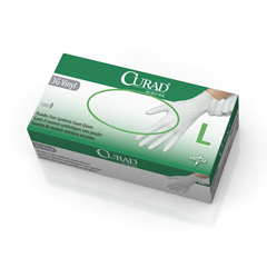 MEDCUR8236H - CuradCURAD Powder-Free Latex-Free 3G Vinyl Exam Gloves