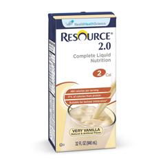 MEDDOY276000 - Nestle Healthcare NutritionSupplement, Resource, 2.0, Vanilla, 32-Oz