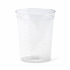 MEDDYND30100 - MedlineNon-Sterile Urinalysis Containers 6 oz. No Lid