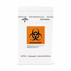 MEDDYND30261 - Medline - Zip-Style Biohazard Specimen Bags, 1000 EA/CS