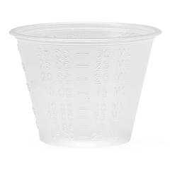 MEDDYND80000H - MedlineNon-Sterile Graduated Plastic Medicine Cups, 1, 100 EA/PK