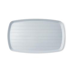 MEDDYND80445 - Medline - Ridged Bedside Service Tray