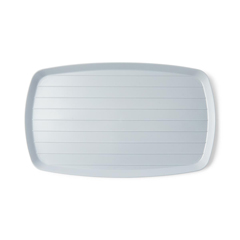 MEDDYND80445H - Medline - Ridged Bedside Service Tray