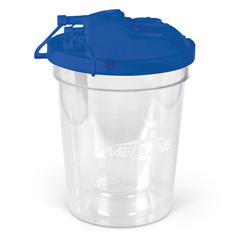 MEDDYNDSC1500H - Medline - Rigid Disposable Suction Canister with Turret Lid