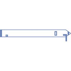 MEDDYNJE4250 - Medline - Robotic Arm Drape, Clear
