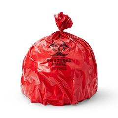 MEDEVSBL40463RPF - Medline - Biohazard Liners, Red