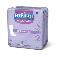 MEDFBC1020 - MedlineFitRight Bladder Control Pads, 192 EA/CS