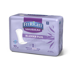MEDFBC1030 - MedlineFitRight Bladder Control Pads, 120 EA/CS
