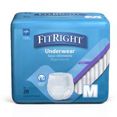 MEDFIT33005A - MedlineFitRight Super Protective Underwear