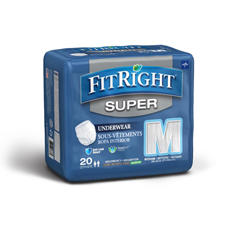 MEDFIT33005AZ - MedlineFitRight Super Protective Underwear