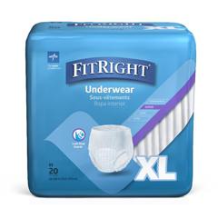 MEDFIT33600AZ - MedlineFitRight Super Protective Underwear