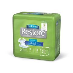 MEDFITRESTORXXLZ - MedlineFitRight Restore Briefs