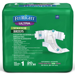 MEDFITSTRETCHU1 - Medline - FitRight Stretch Ultra Brief