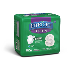 MEDFITULTRASMZ - MedlineFitRight Ultra Briefs, Small, 20EA/BG