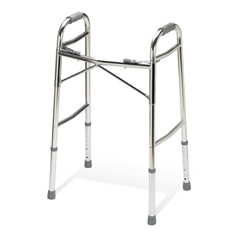 MEDG07756 - Guardian2-Button Youth Folding Walkers without Wheels, 4EA/CS