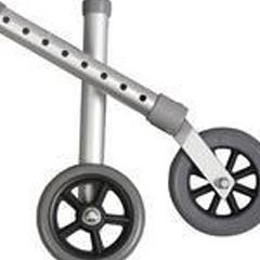 MEDG222-0933 - MedlineFront Walker Wheel Attachment