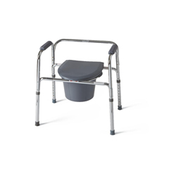 MEDG30211-4 - Medline3-In-1 Steel Commode