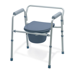 MEDG30213-1F - GuardianFolding 3-In-1 Commode