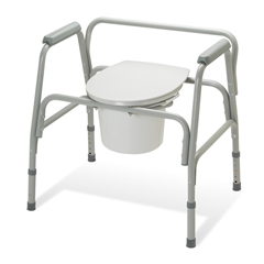 MEDG30214-2 - GuardianCommode, Ez-Care, Extra-Wide, 3 In 1