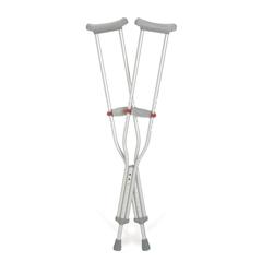 MEDG90-214-8 - GuardianCrutch, Aluminum, Red-Dot, Tall, Adult