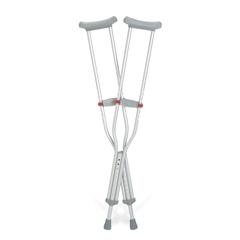 MEDG91-214-8 - Guardian - Red Dot Aluminum Crutches, 8 PR/CS