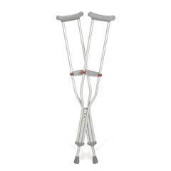 MEDG91-214-8H - Guardian - Red Dot Aluminum Crutches, 1/PR