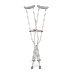 MEDG92-214-8 - GuardianCrutch, Aluminum, Red-Dot, Youth