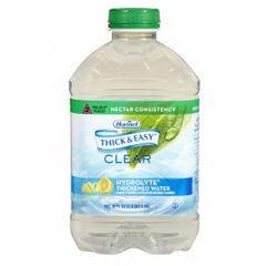 MEDHML12863 - Hormel LabsThick & Easy Thickened Water - Lemon Flavor
