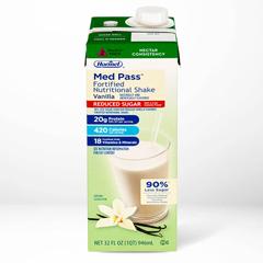MON22642600 - Hormel LabsOral Supplement Med Pass® No Sugar Added Vanilla 32 oz., 12EA/CS