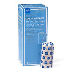 MEDMDS087004LFH - MedlineMatrix Nonsterile Wrap Elastic Bandages, White/beige, 1/EA
